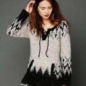 free people love bug fairisle sweater